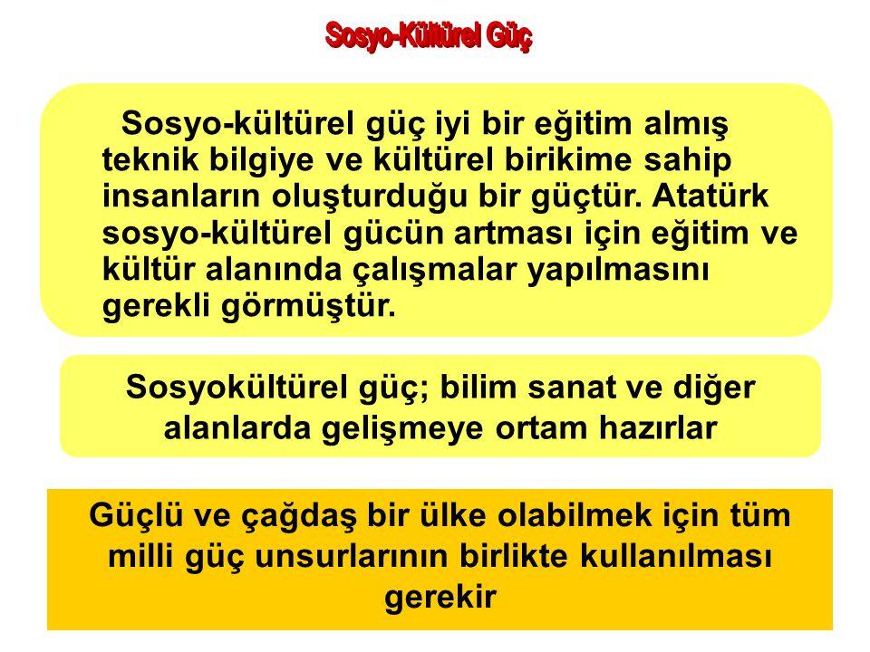 Sosyo-Kültürel Güç