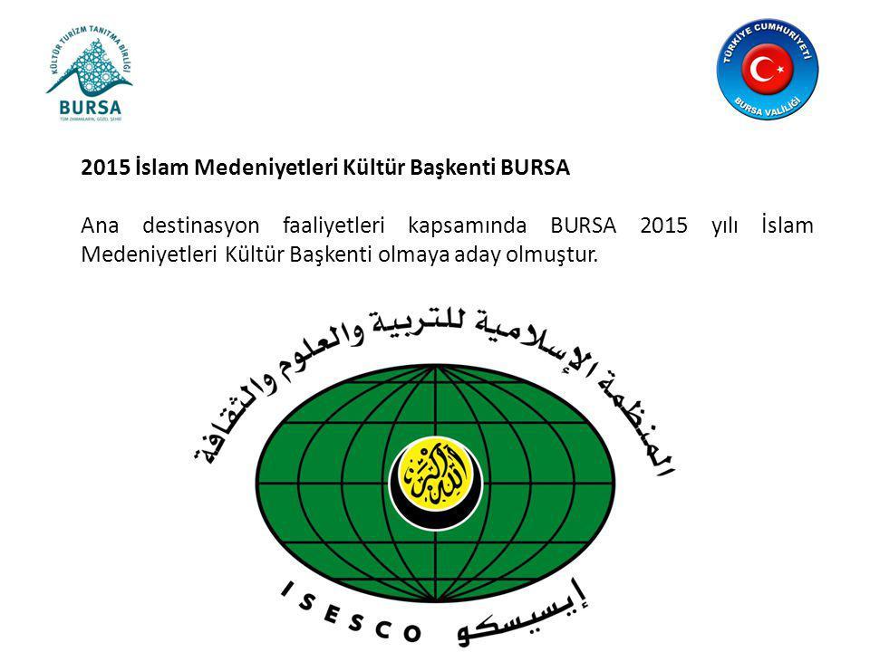 2015 İslam Medeniyetleri Kültür Başkenti BURSA