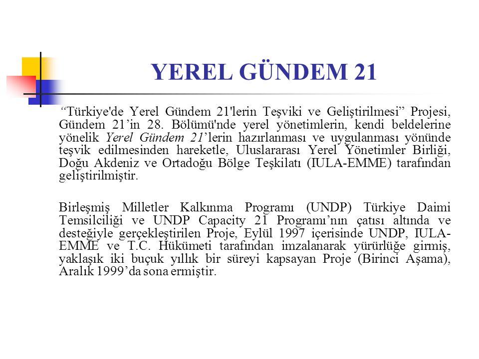 YEREL GÜNDEM 21
