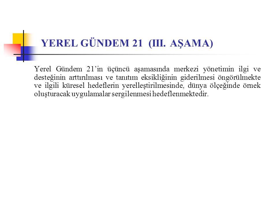 YEREL GÜNDEM 21 (III. AŞAMA)