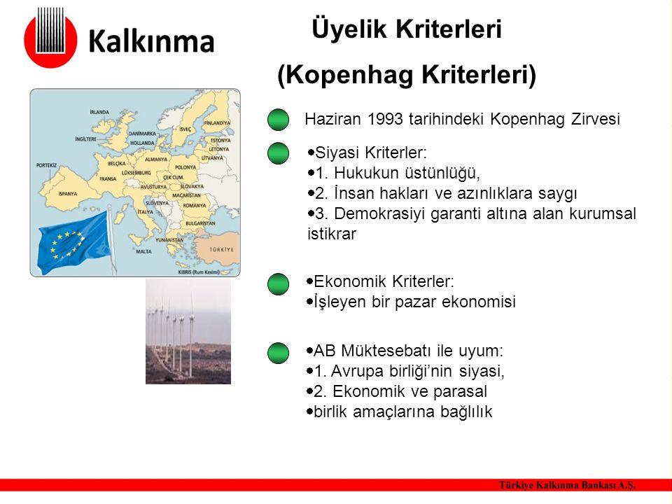 Üyelik Kriterleri (Kopenhag Kriterleri)