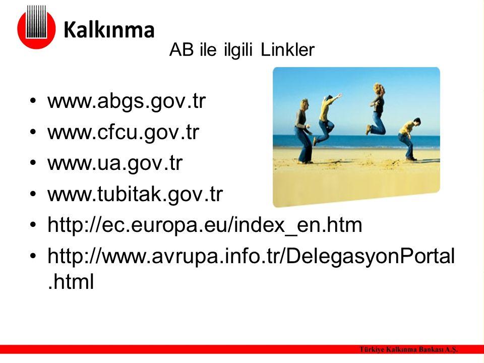 www.abgs.gov.tr www.cfcu.gov.tr www.ua.gov.tr www.tubitak.gov.tr