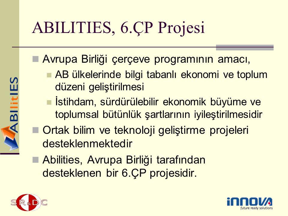 ABILITIES, 6.ÇP Projesi Avrupa Birliği çerçeve programının amacı,