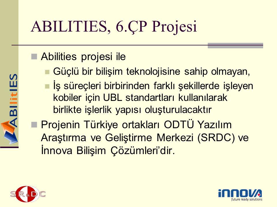 ABILITIES, 6.ÇP Projesi Abilities projesi ile