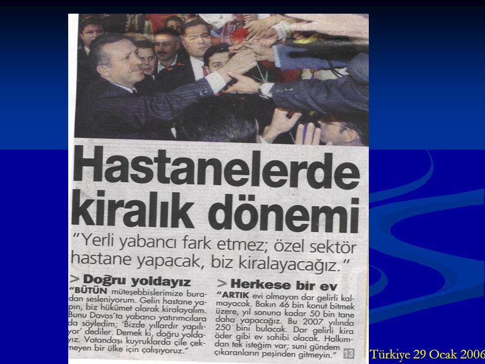 Türkiye 29 Ocak 2006