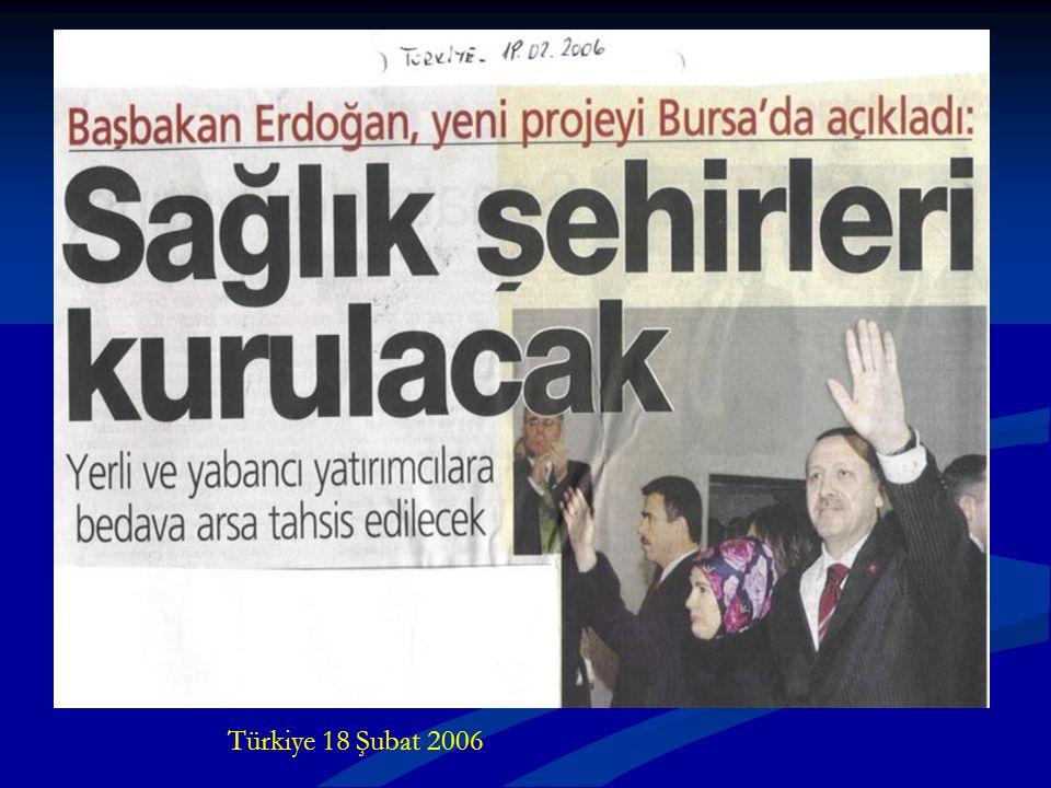 Türkiye 18 Şubat 2006