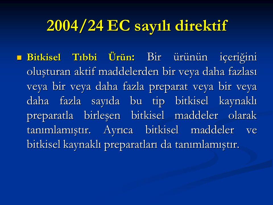 2004/24 EC sayılı direktif
