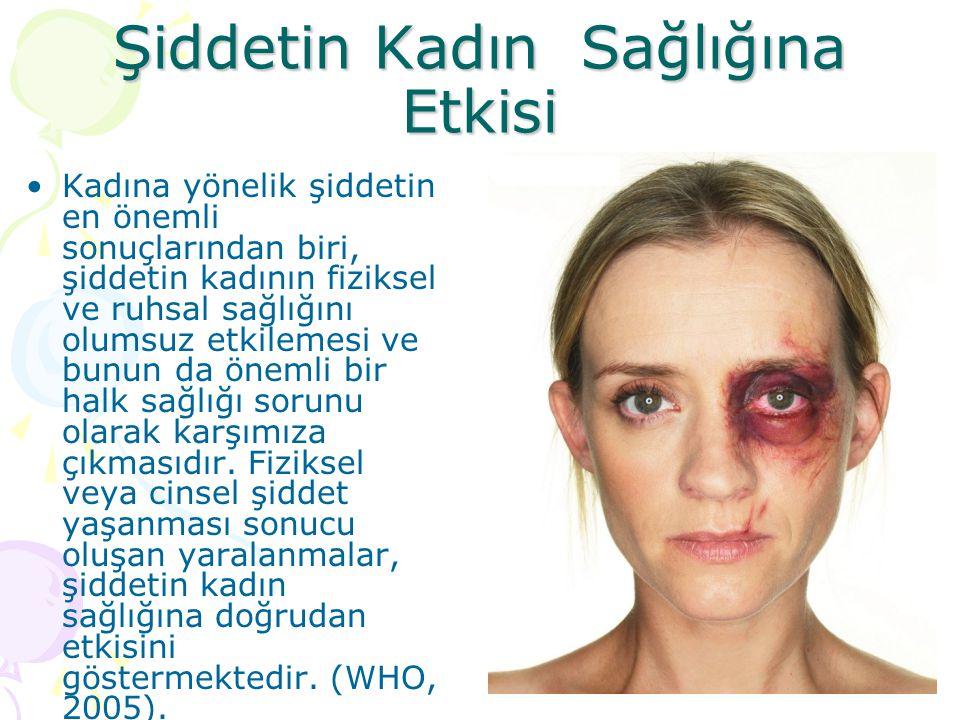 Şiddetin Kadın Sağlığına Etkisi