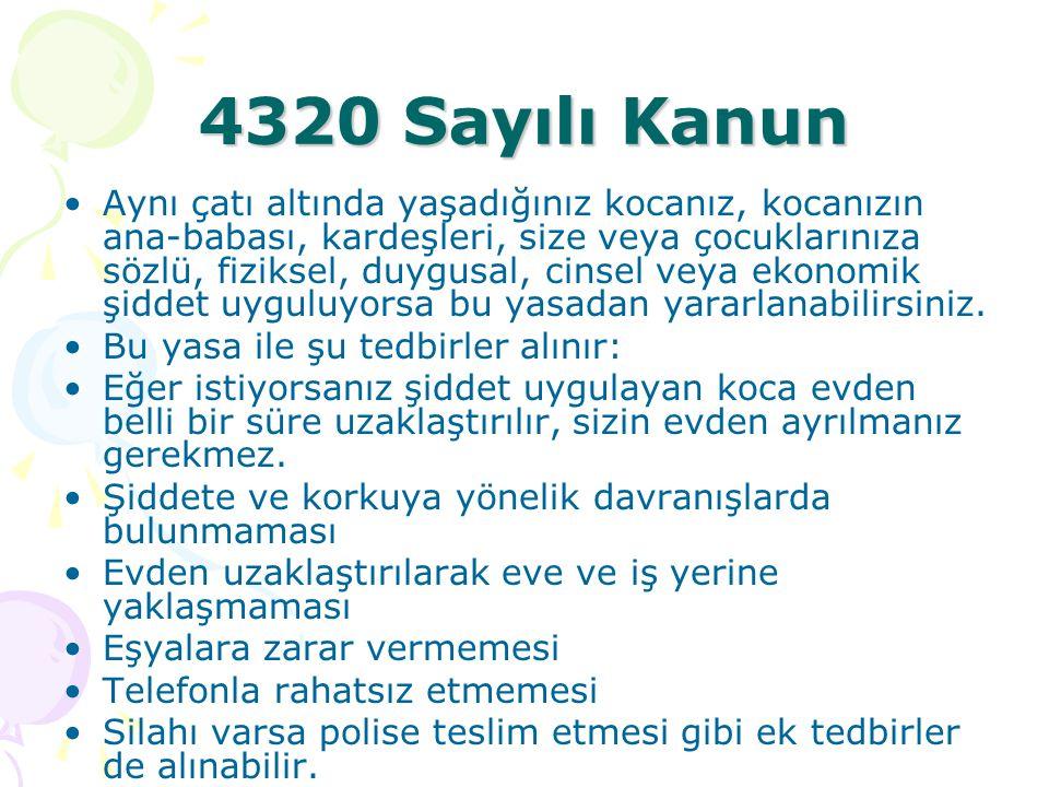 4320 Sayılı Kanun