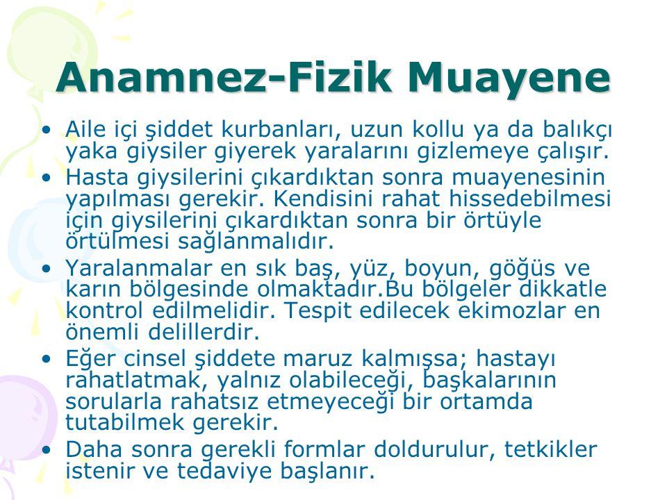 Anamnez-Fizik Muayene