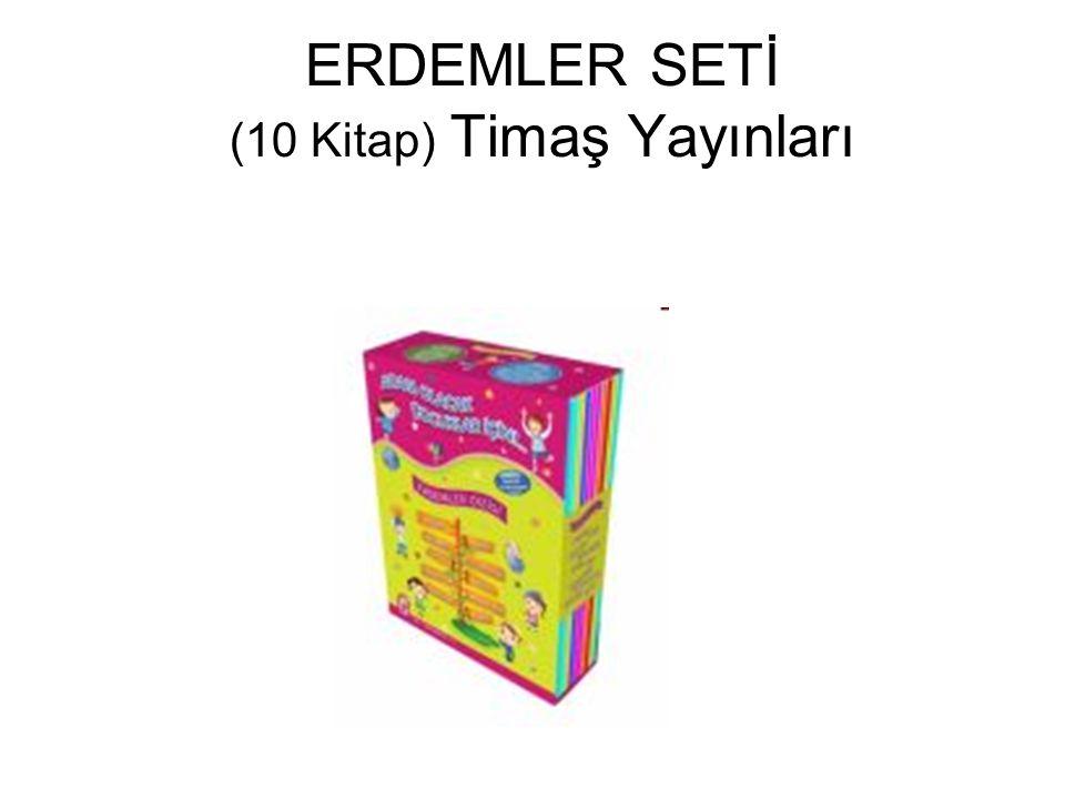 ERDEMLER SETİ (10 Kitap) Timaş Yayınları