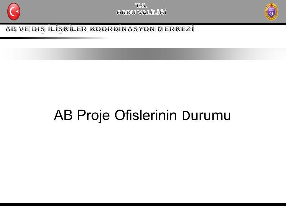 AB Proje Ofislerinin Durumu