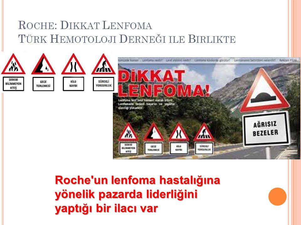 Roche: Dikkat Lenfoma Türk Hemotoloji Derneği ile Birlikte