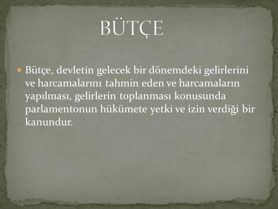 BÜTÇE