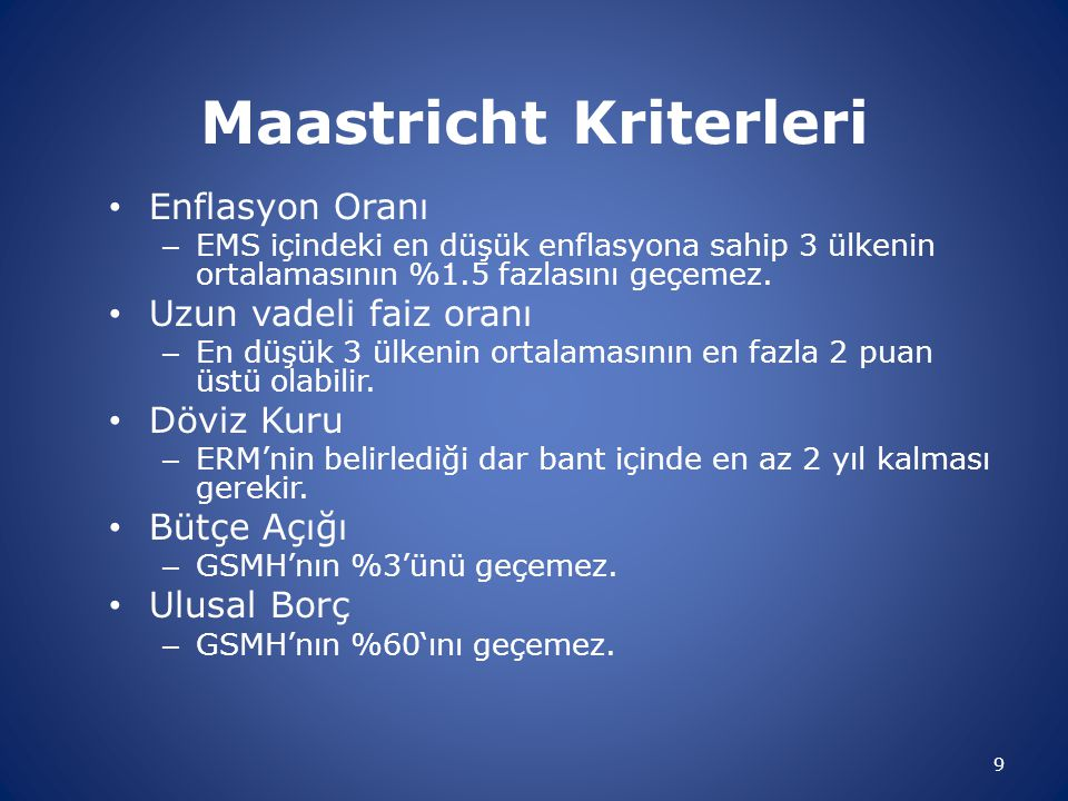 Maastricht Kriterleri
