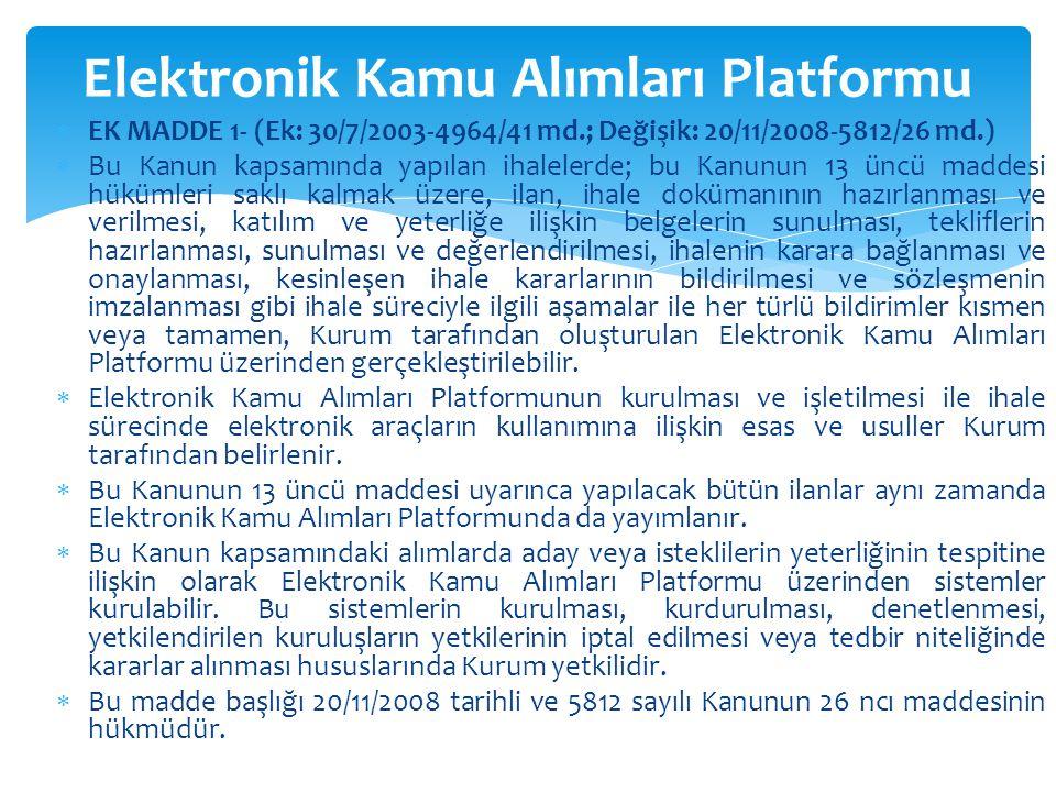 Elektronik Kamu Alımları Platformu