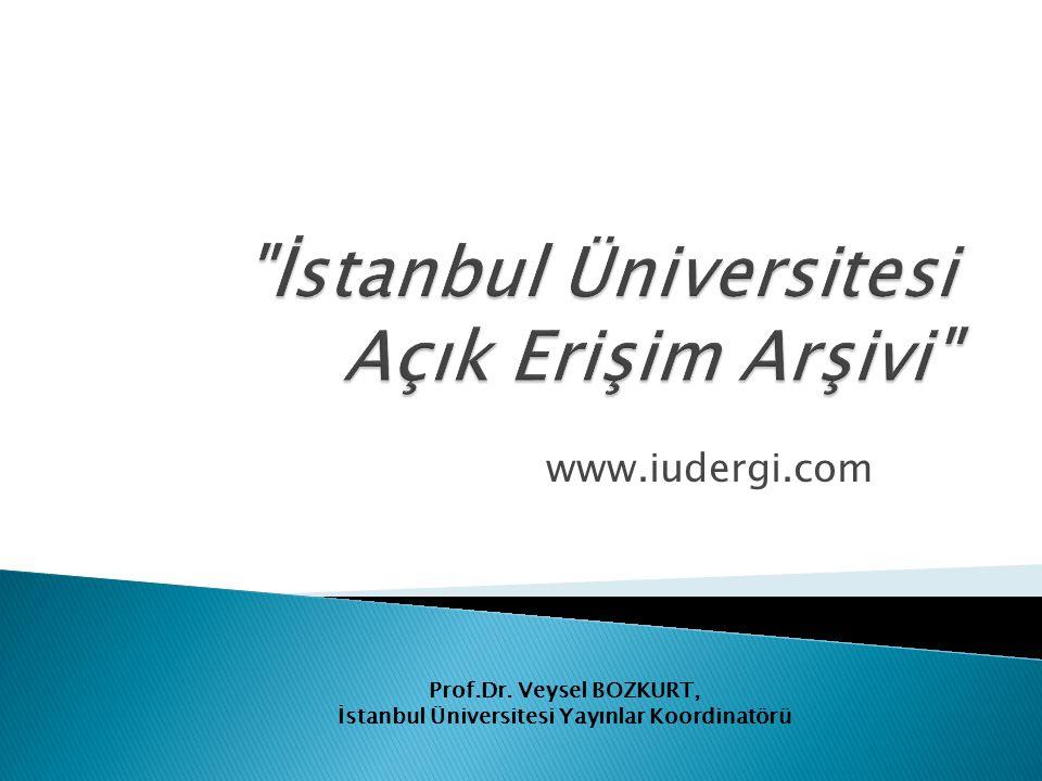 İstanbul Üniversitesi Açık Erişim Arşivi