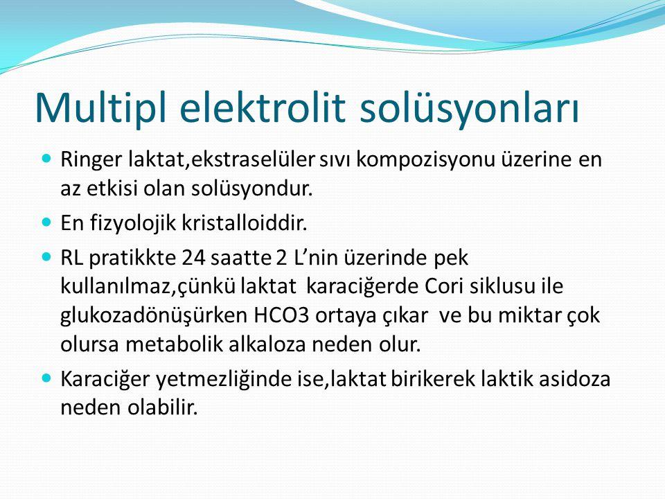 Multipl elektrolit solüsyonları