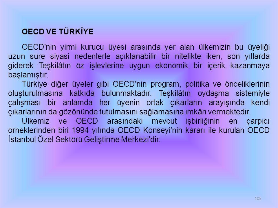 OECD VE TÜRKİYE