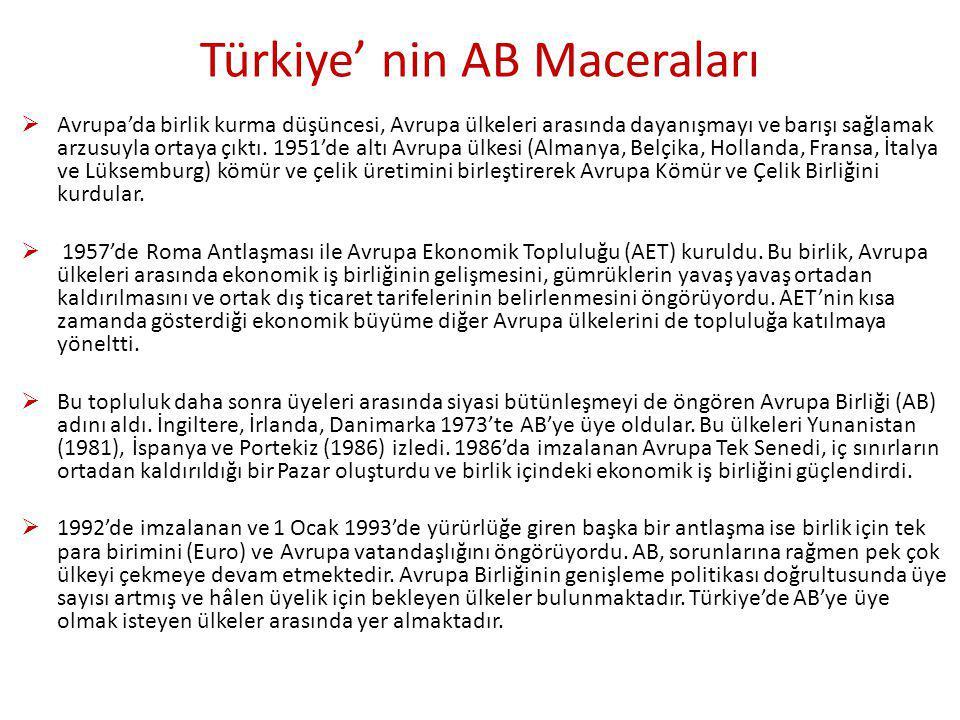 Türkiye' nin AB Maceraları