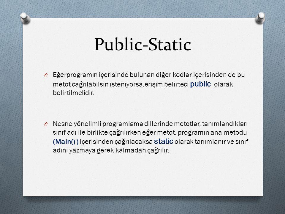 Public-Static