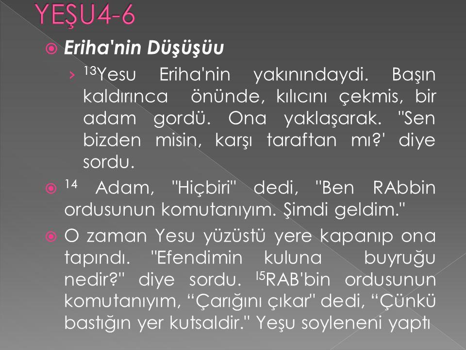 YEŞU4-6 Eriha nin Düşüşüu