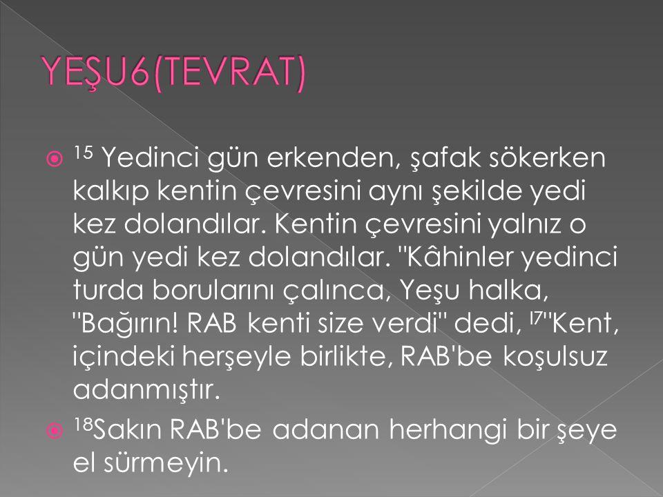 YEŞU6(TEVRAT)