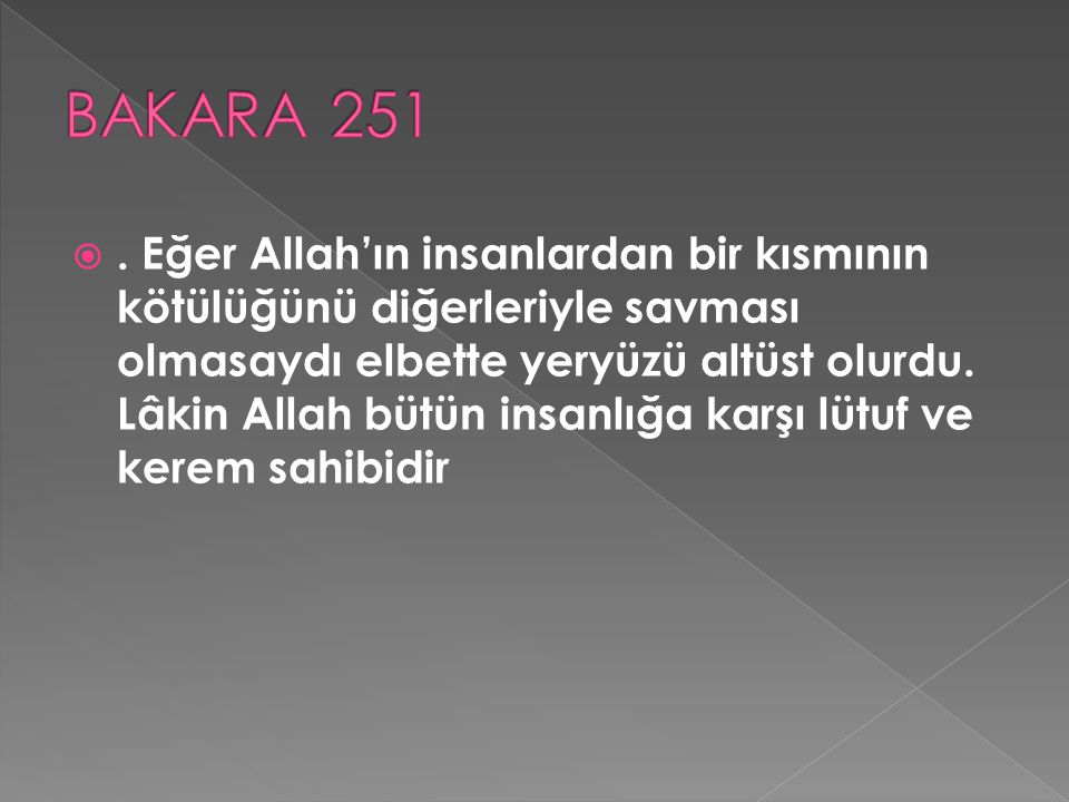 BAKARA 251