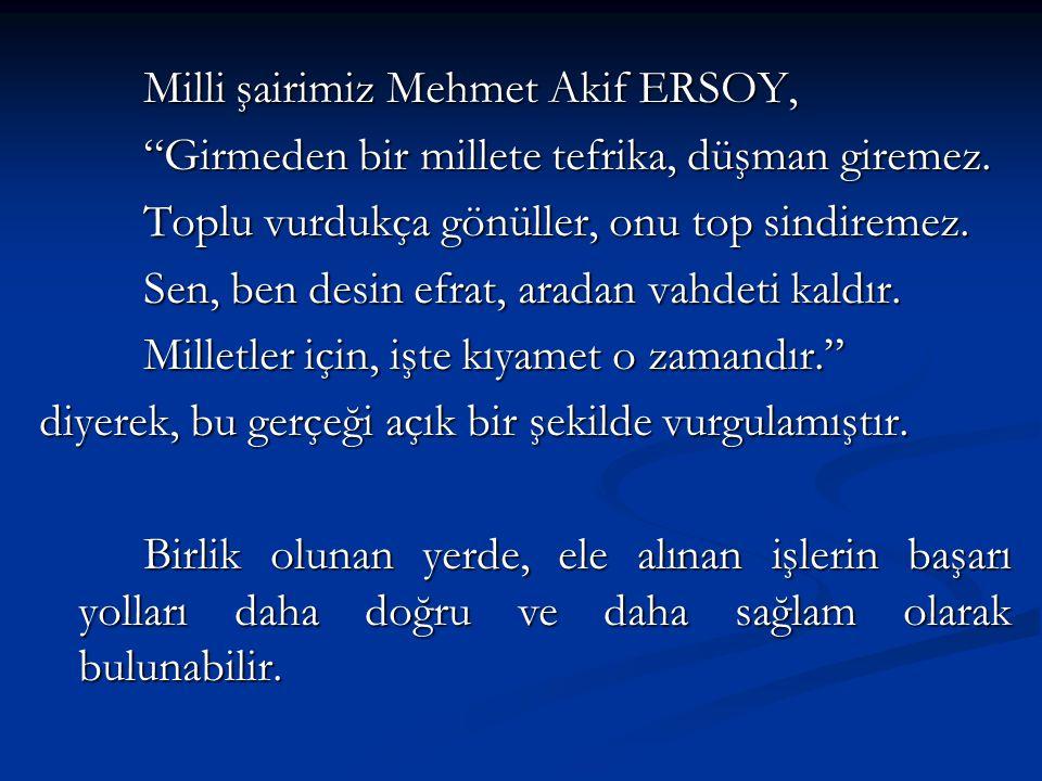 Milli şairimiz Mehmet Akif ERSOY,