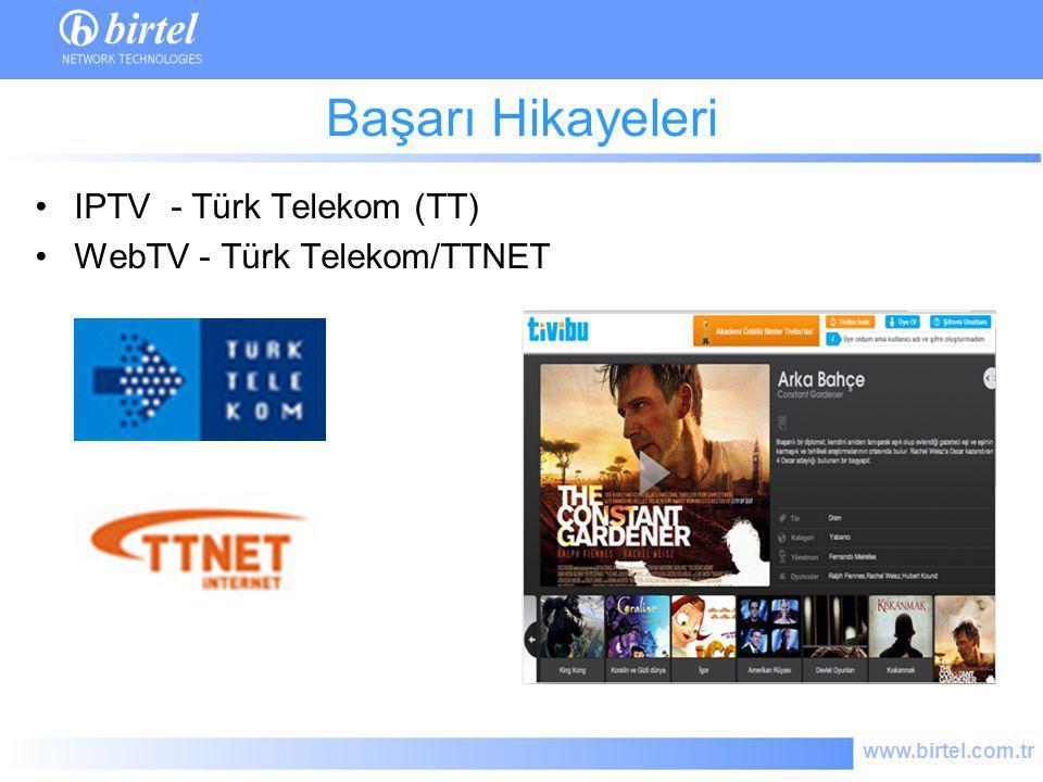 Başarı Hikayeleri IPTV - Türk Telekom (TT) WebTV - Türk Telekom/TTNET