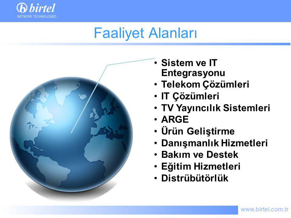 Faaliyet Alanları Sistem ve IT Entegrasyonu Telekom Çözümleri