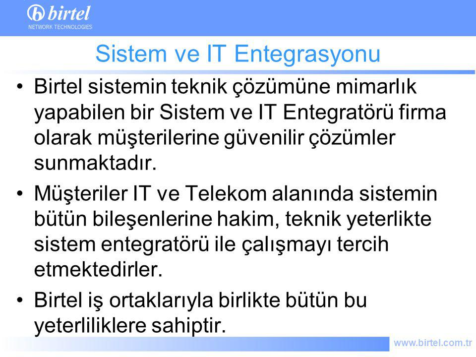 Sistem ve IT Entegrasyonu