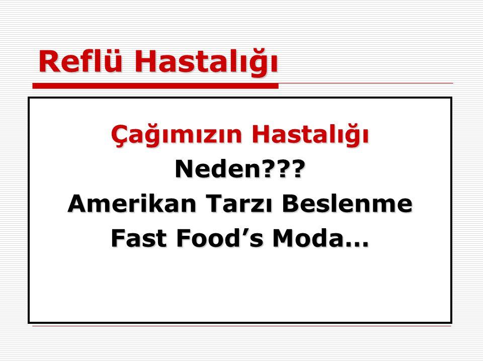 Amerikan Tarzı Beslenme