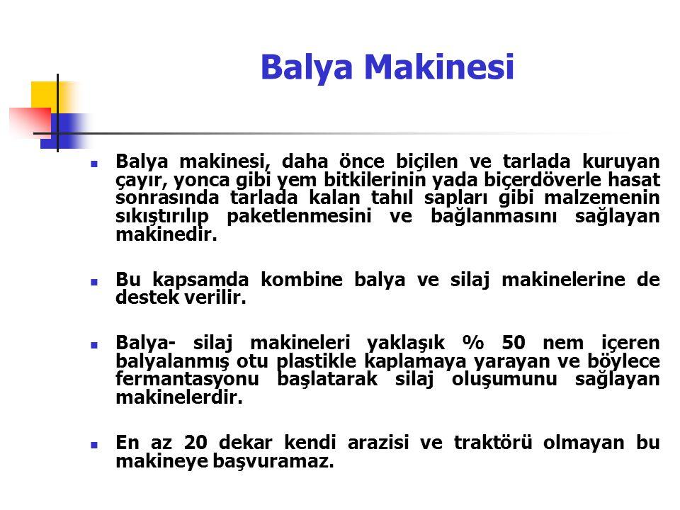 Balya Makinesi