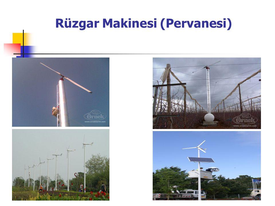 Rüzgar Makinesi (Pervanesi)
