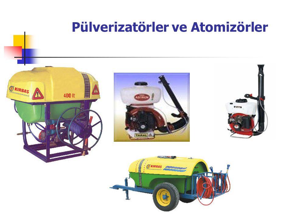 Pülverizatörler ve Atomizörler