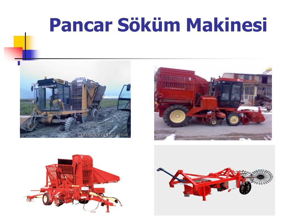 Pancar Söküm Makinesi