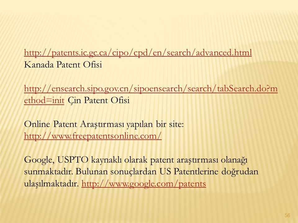 http://patents. ic. gc. ca/cipo/cpd/en/search/advanced