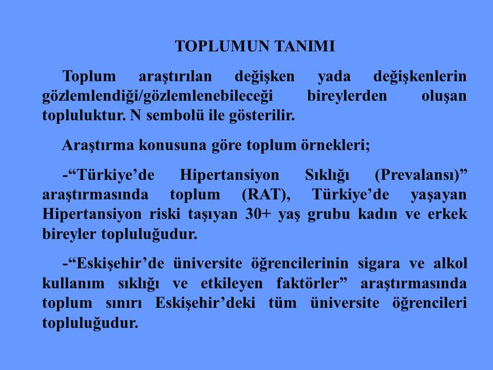 TOPLUMUN TANIMI