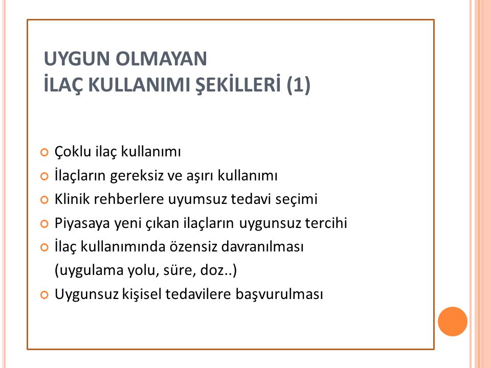 İLAÇ KULLANIMI ŞEKİLLERİ (1)