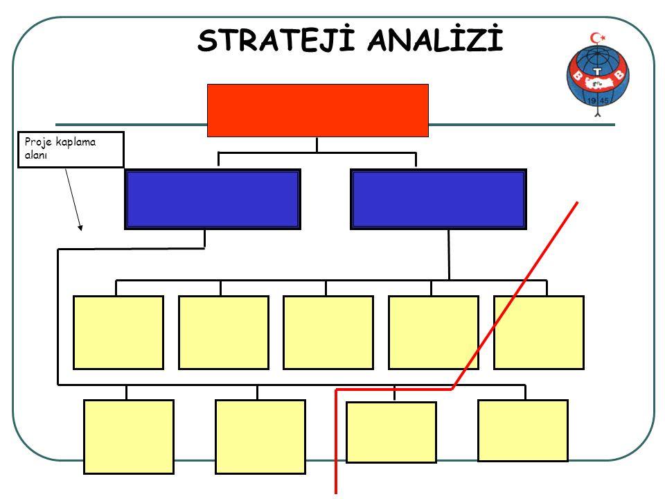 STRATEJİ ANALİZİ Proje kaplama alanı