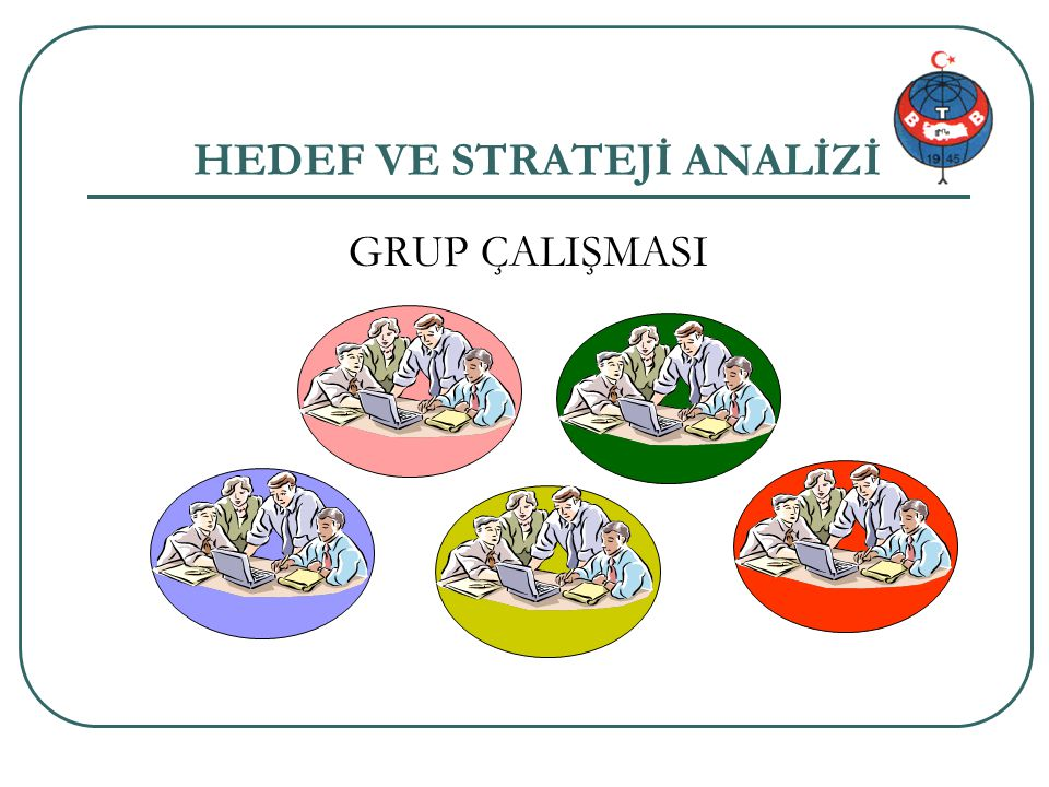 HEDEF VE STRATEJİ ANALİZİ