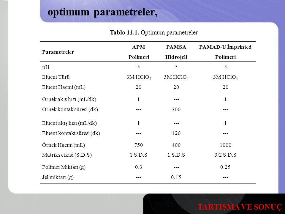 PAMAD-U İmprinted Polimeri