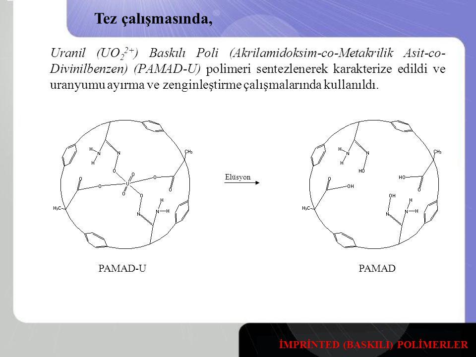 Tez çalışmasında, PAMAD-U PAMAD