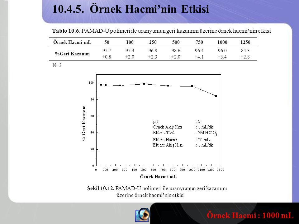 10.4.5. Örnek Hacmi'nin Etkisi