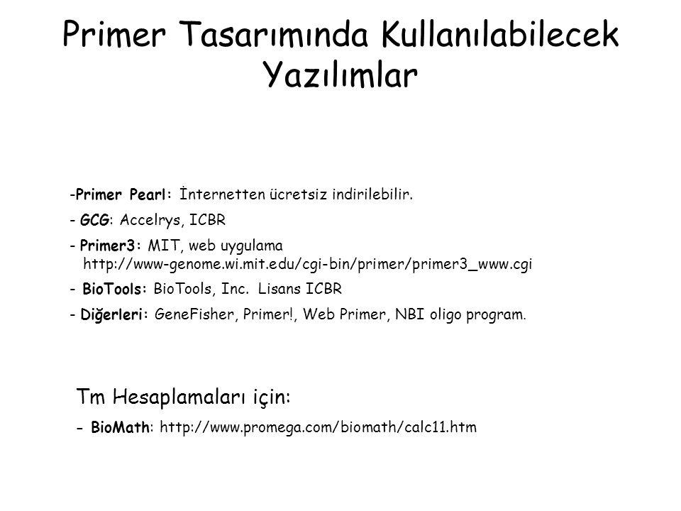 Primer Tasarımında Kullanılabilecek Yazılımlar
