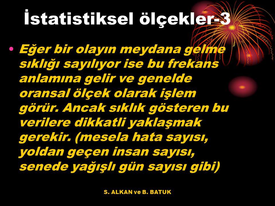 İstatistiksel ölçekler-3