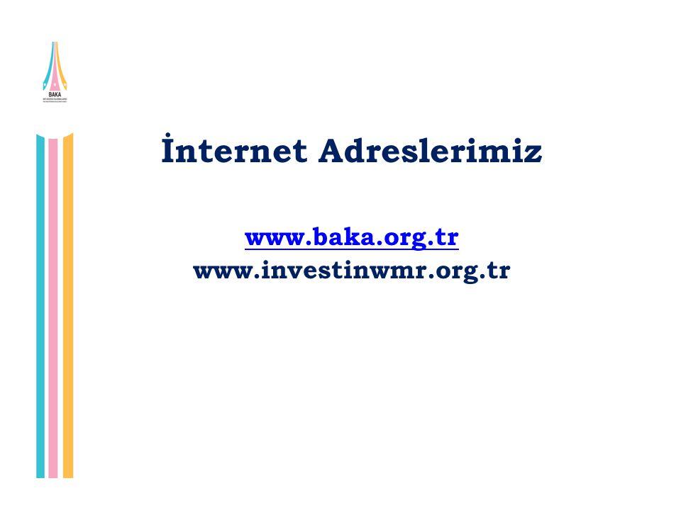 İnternet Adreslerimiz