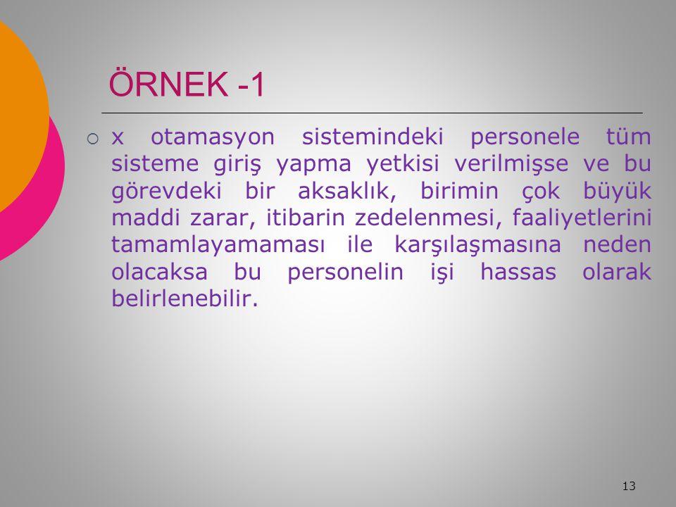 ÖRNEK -1
