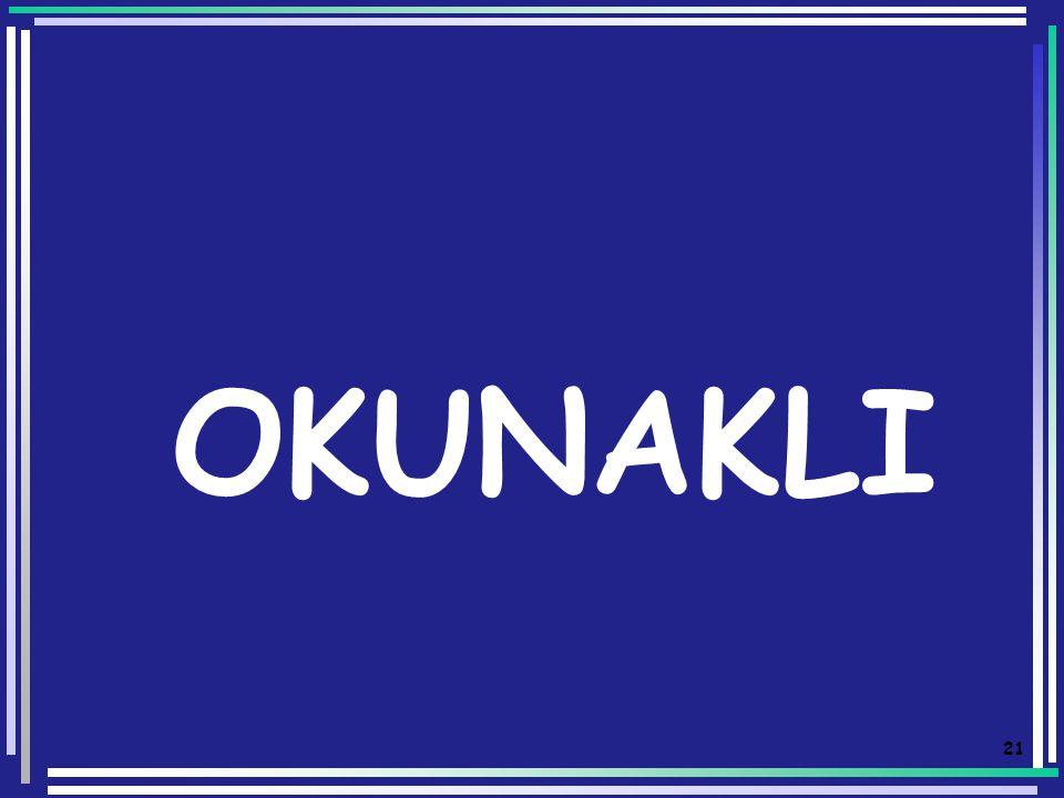 OKUNAKLI